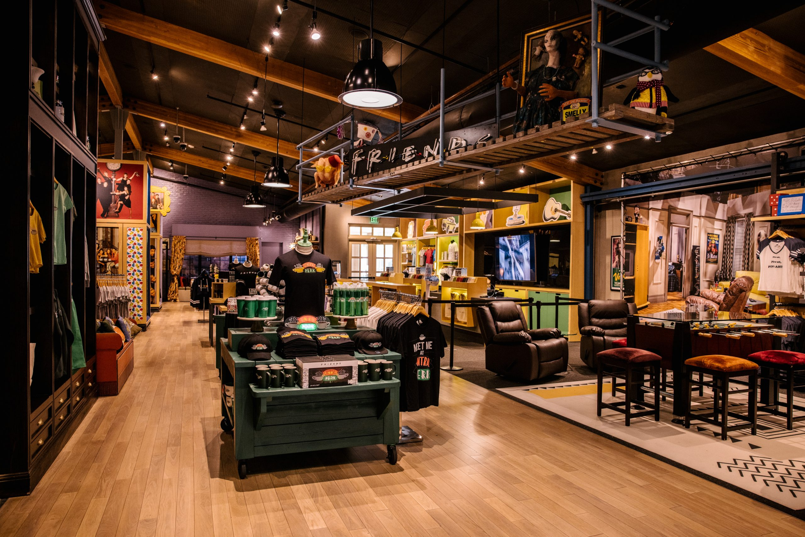 Expanded Central Perk Cafe & Friends Boutique
